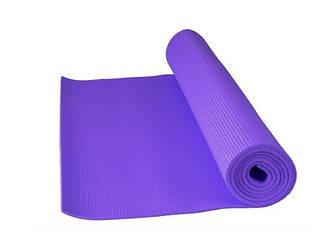 Коврик для йоги и фитнеса Power System  PS-4014 Fitness Yoga Mat Purple, КОД: 1293329