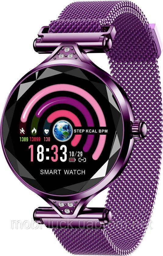 Смарт-часы Lemfo H1 Purple