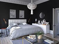 Металлическая кровать Tenero Глория 1400х2000 Белый 100000263, КОД: 1555674