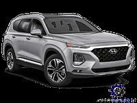 Крышка (Ляда) багажника Santa Fe IV 2018-
