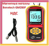 Толщиномер GM280F, прибор для измерения, проверки толщины лакокрасочного покрытия, измеритель лкп авто, краски, фото 1