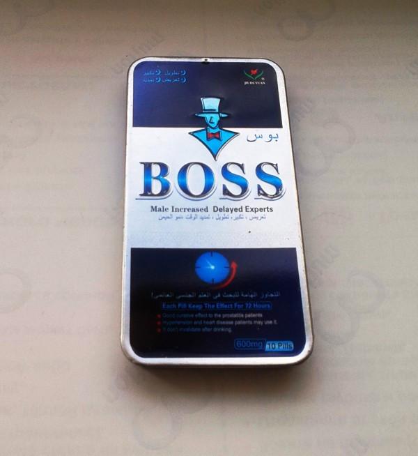 100 % ОРИГИНАЛ Препарат для повышения потенции «Boss»