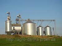 Зерносушилка на природном газу и пропан-бутане ЗШ-1500Г