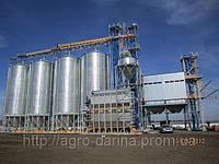 Зернохранилища (силоса) вентилируемые с конусным днищем C4К80
