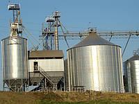 Зернохранилища (силоса) вентилируемые с конусным днищем C4К110