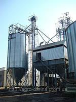 Зернохранилища (силоса) вентилируемые с конусным днищем С4К125
