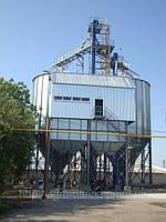Зернохранилища (силоса) вентилируемые с конусным днищем C5К110
