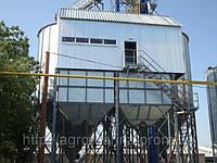 Зернохранилища (силоса) вентилируемые с конусным днищем C5К140