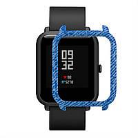 Накладка бампер для часов Xiaomi Amazfit Bip Джинс 1010597, КОД: 382847