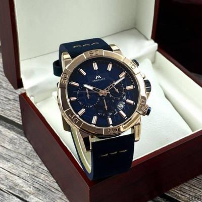 Наручные часы Megalith 8086M Blue-Cuprum качественные и стильные