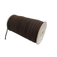 Шнурок-резинка круглый Luxyart 3 мм 500 м Коричневый Р3-7, КОД: 1675813