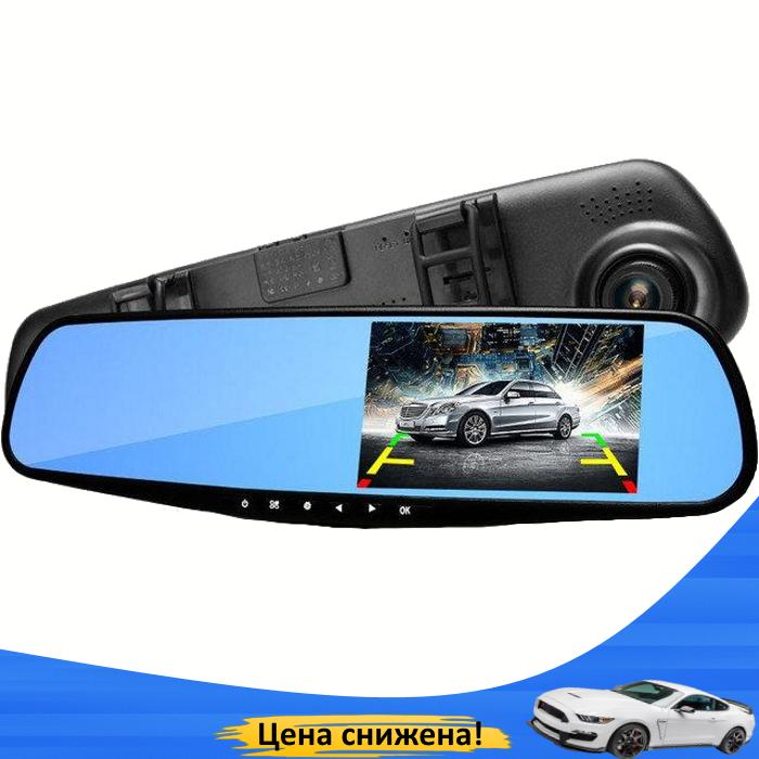"""Автомобильный видеорегистратор L604 2,7"""" с антибликовым покрытием - авторегистратор зеркало заднего вида"""