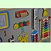 Развивающая доска размер 60*80 Бизиборд для детей, фото 4
