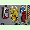 Развивающая доска размер 60*80 Бизиборд для детей, фото 6