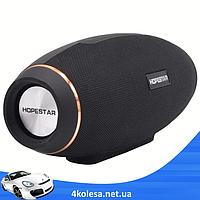 Портативная колонка Hopestar H20 31W - мощная акустическая стерео блютуз колонка Черная