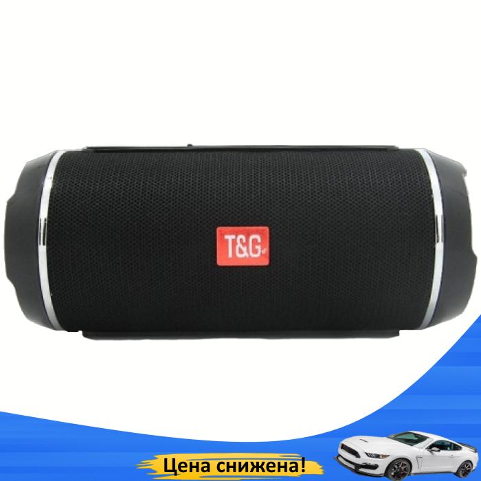 Портативная колонка TG 116 (Черная) - беспроводная водонепроницаемая Bluetooth колонка (Реплика)