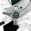 Серебреные мужские наручные часы Megalith 8046M Green кварцевые, фото 8