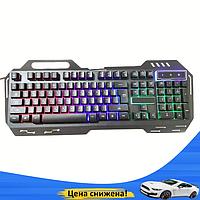 Клавиатура KEYBOARD GK-900 с подсветкой, Проводная клавиатура, Игровая клавиатура, Геймерская клавиатура