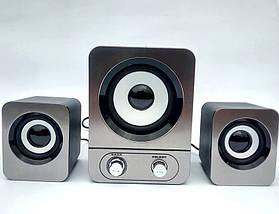 Колонки для компьютера FT-25 (YD-25) - акустические компьютерные колонки, колонки для ноутбука, колонки для ПК, фото 2
