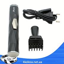 Триммер Gemei GM 3121 2в1 - Электробритва для носа, ушей, висков и шеи, аккумуляторный триммер, фото 2