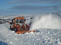 Локомобиль с роторным снегоочистителем