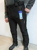 Горнолыжные мужские штаны Azimuth 7916 черные  код 106 Б