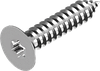 Саморез 2,2х6,5 по металлу с потайной головкой, звезд. шлиц Torx ГОСТ 11652-80