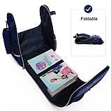 Каркасный школьный ортопедический рюкзак трансформер с пеналом, ранец для мальчика 1, 2, 3, 4, 5 класс, фото 9