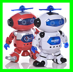 Танцюючий робот Dancing Robot дитяча іграшка музичний робот. Червоний.