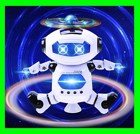 Танцюючий робот Dancing Robot дитяча іграшка музичний робот. Білий.