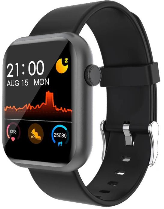 Смарт часы Colmi P9 Black | IP67 | Тонометр