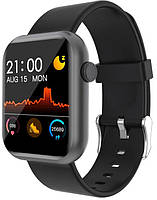Смарт часы Colmi P9 Black | IP67 | Тонометр, фото 1