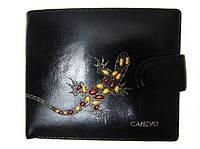 Женский кошелек Canevo 9213 черный кожвинил