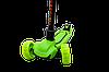 Детский трехколесный самокат Maraton Galaxy с быстрым складыванием (Зеленый), фото 3