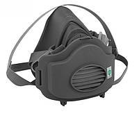 Полумаска респиратора от пыли аналог 3М 3200 + 20 сменных фильтров