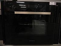 Sistema 715 (600 мм.) электрический, независимый духовой шкаф цвет черное закаленное стекло