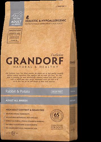 Сухий корм Grandorf Adult Large Breed для дорослих собак великих порід з ягням і рисом 12 кг