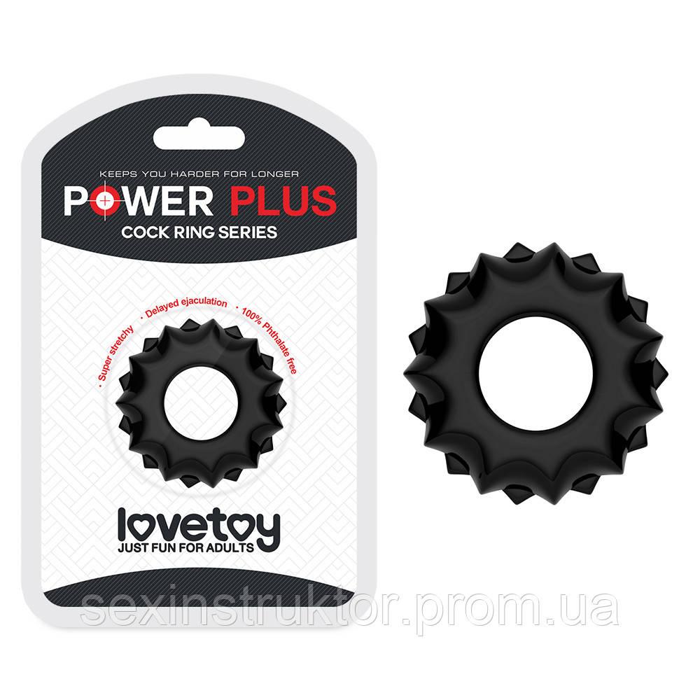 Эрекционное кольцо - Power Plus Cockring Black