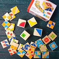 Детская развивающая настольная игра головоломка для детей от 3 лет Кубус, Goki