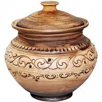 Горшок для запекания Покутская Керамика Шляхтянская 1.8 л ST-503507psg, КОД: 169805