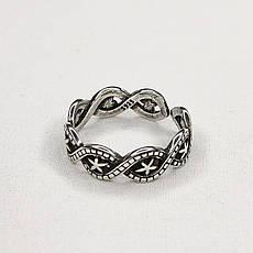 Срібне Кільце Жіноче City-A Кільце з Зірками зі Срібла 925 Регульоване Безрозмірне №3014, фото 3