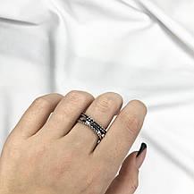 Серебряное Кольцо Женское Мужское City-A Кольцо Дугой из Серебра 925 Регулируемое Безразмерное №3015, фото 2