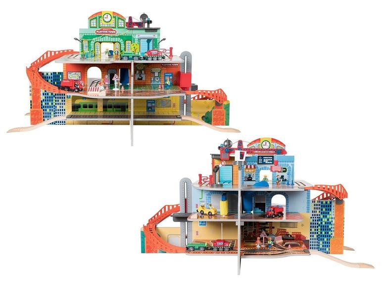 Уцінка! Набір вокзал для дерев'яної Залізниці Playtive Junior Німеччина