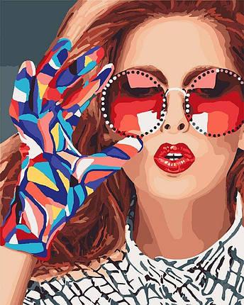 KH4577 Раскраска по номерам Модница, Без коробки, фото 2