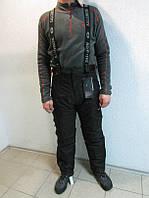 Горнолыжные мужские штаны Salomon 9966 черные код 110Б