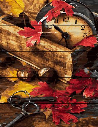 RA-GXT31990 Раскраска по номерам на деревяной основе Осенняя композиция, фото 2