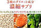 Seedcoms Блокатор калорий Экстракт белой фасоли + шелковица + хитозан, 30 шт на 30 дн, фото 2