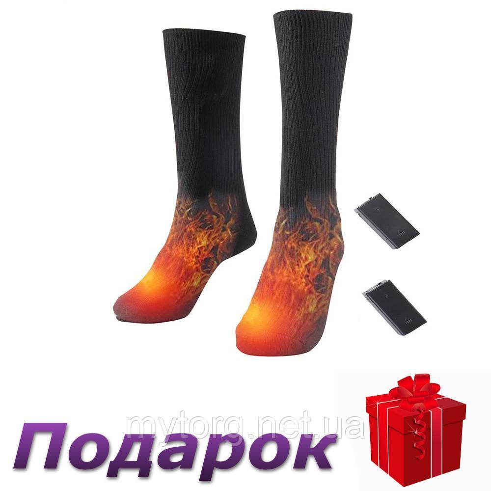 Носки с подогревом Glovi хлопковые