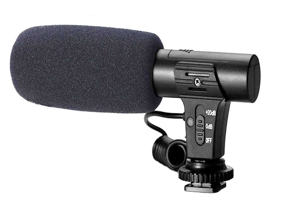 Микрофон Mamen MIC 05 для камер и смартфонов