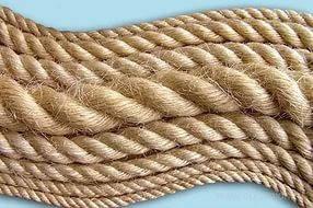 Веревка, канат джутовый диаметр 6мм- 100 метров
